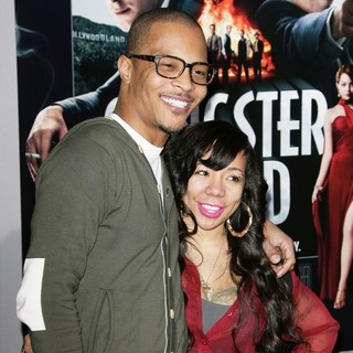 T.I., Tameka Cottle in The Los Angeles World Premiere of Gangster Squad - Arrivals