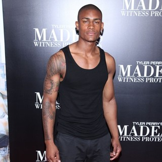 Taejahn Taylor in Tyler Perry's Madea's Witness Protection New York Premiere