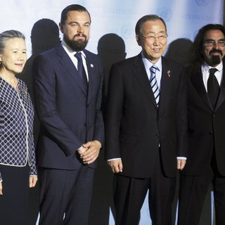 Leonardo DiCaprio - Leonardo DiCaprio Is Named United Nations Messenger of Peace During A Ceremony