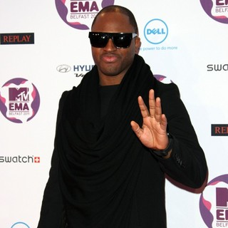 Taio Cruz in The MTV Europe Music Awards 2011 (EMAs) - Arrivals