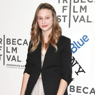 Taissa Farmiga in The 2011 Tribeca Film Festival - Premiere of Higher Ground - Arrivals
