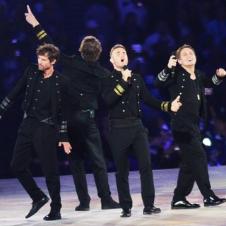 Take That in London 2012 Olympic Games - Closing Ceremony