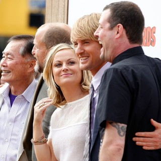 George Takei, Woody Harrelson, Amy Poehler, Owen Wilson, Jimmy Hayward in World Premiere of Free Birds