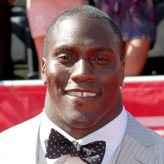 Takeo Spikes in 2012 ESPY Awards - Red Carpet Arrivals