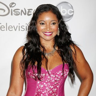 Tamala Jones in 2011 Disney ABC Television Group Host Summer Press Tour