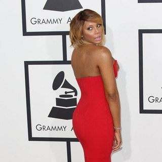 Tamar Braxton in The 56th Annual GRAMMY Awards - Arrivals