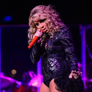 Tamar Braxton in Tamar Braxton Performing Live During John Legend's Made to Love World Tour