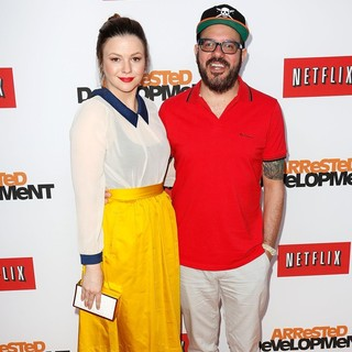 Amber Tamblyn, David Cross in Netflix's Los Angeles Premiere of Season 4 of Arrested Development