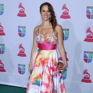 Tamela Hedstrom in 13th Annual Latin Grammy Awards - Arrivals