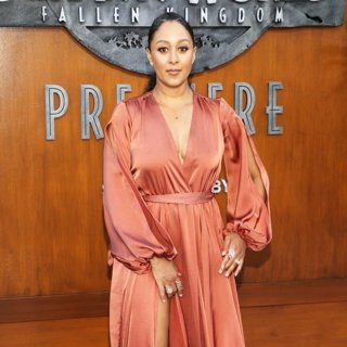 Tamera Mowry in Premiere of Universal Pictures and Amblin Entertainment's Jurassic World: Fallen Kingdom