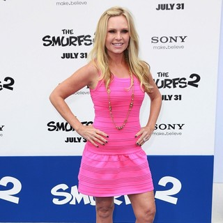 Tamra Barney in The Los Angeles Premiere of The Smurfs 2 - Arrivals