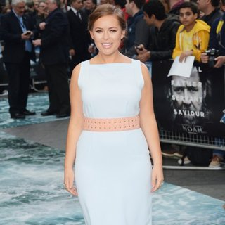Tanya Burr in U.K. Premiere of Noah - Arrivals
