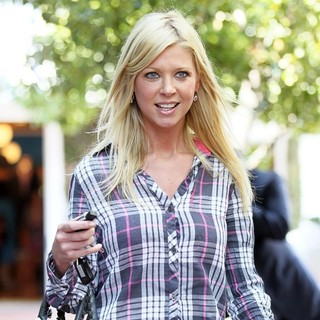 Tara Reid in Tara Reid Shops at Fred Segal with Friends