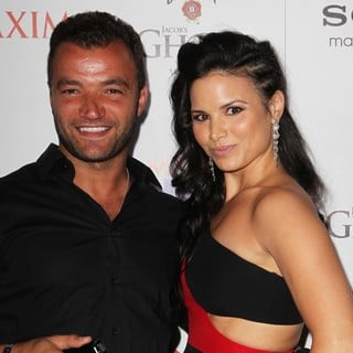 Nick Tarabay, Katrina Law in The Maxim Hot 100 Party - Arrivals