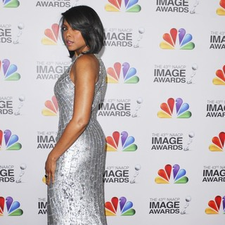 Taraji P. Henson in The 43rd Annual NAACP Awards - Arrivals