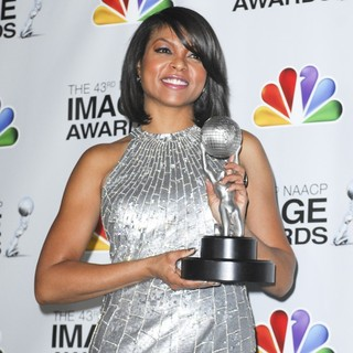 Taraji P. Henson in The 43rd Annual NAACP Awards - Press Room