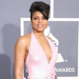 Taraji P. Henson in 54th Annual GRAMMY Awards - Arrivals