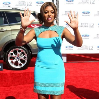 Taraji P. Henson in The BET Awards 2012 - Arrivals