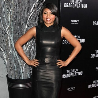 New York Premiere of The Girl with the Dragon Tattoo - Arrivals - taraji-p-henson-premiere-the-girl-with-the-dragon-tattoo-03