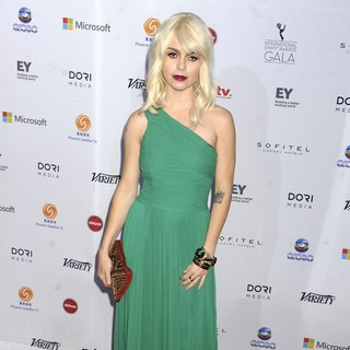 Taryn Manning in 41st International Emmy Awards