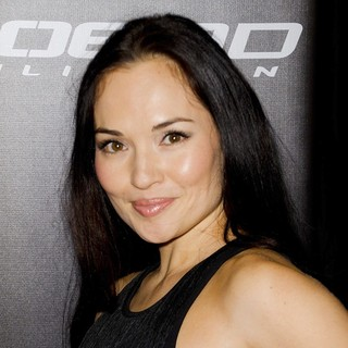 Tasneem Roc in G.I. Joe: Retaliation - Sydney Premiere