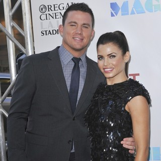 Channing Tatum, Jenna Dewan in 2012 Los Angeles Film Festival - Closing Night Gala - Premiere Magic Mike