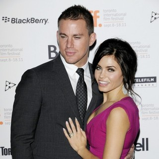 Channing Tatum, Jenna Dewan in 36th Annual Toronto International Film Festival - Ten Year - Premiere Arrivals