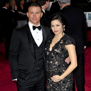 Channing Tatum, Jenna Dewan in The 85th Annual Oscars - Red Carpet Arrivals