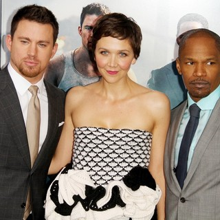 Channing Tatum, Maggie Gyllenhaal, Jamie Foxx in New York Premiere of White House Down