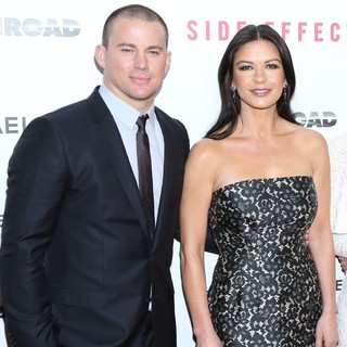 Channing Tatum, Catherine Zeta-Jones in New York Premiere of Side Effects