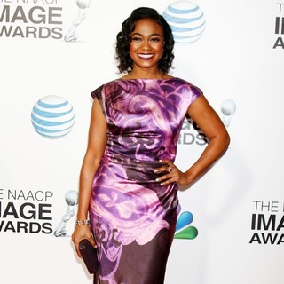 Tatyana Ali in The 44th NAACP Image Awards