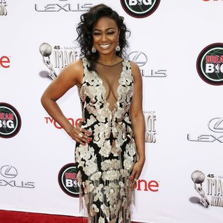 Tatyana Ali in 45th NAACP Image Awards - Arrivals