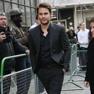 Taylor Kitsch in Taylor Kitsch Outside The BBC Radio 1 Studios