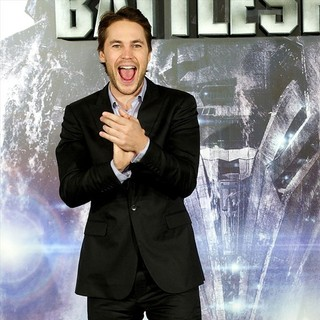 Taylor Kitsch in The Spain Photocall for Battleship