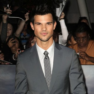 Taylor Lautner in The Premiere of The Twilight Saga's Breaking Dawn Part II