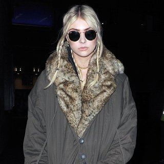 Taylor Momsen Arriving at The Radio1 Studios
