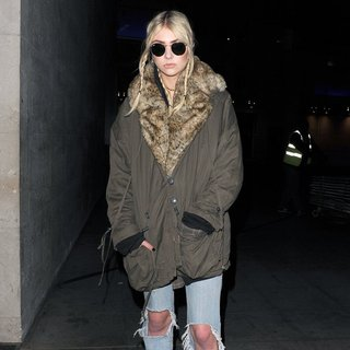 Taylor Momsen, The Pretty Reckless in Taylor Momsen Arriving at The Radio1 Studios