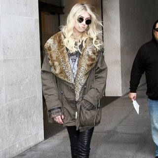 Taylor Momsen Seen Leaving Radio 1