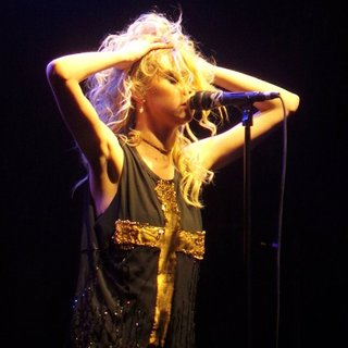 Taylor Momsen Performs with Her Band The Pretty Reckless