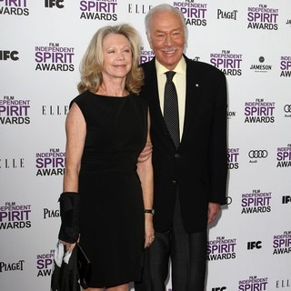 Elaine Taylor, Christopher Plummer in 27th Annual Independent Spirit Awards - Arrivals