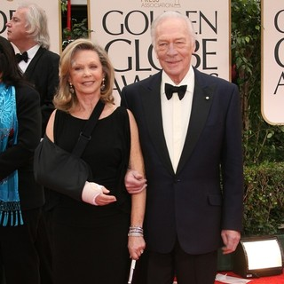 Elaine Taylor, Christopher Plummer in The 69th Annual Golden Globe Awards - Arrivals