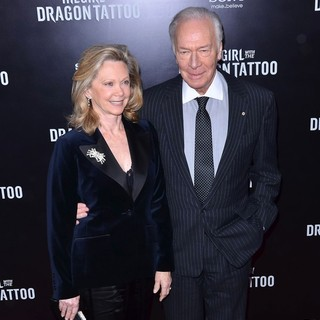 Elaine Taylor, Christopher Plummer in New York Premiere of The Girl with the Dragon Tattoo - Arrivals