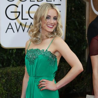 Taylor Schilling in 71st Annual Golden Globe Awards - Arrivals
