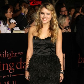 Taylor Spreitler in The Twilight Saga's Breaking Dawn Part I World Premiere