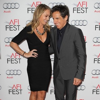 Christine Taylor, Ben Stiller in AFI FEST 2013 - The Secret Life of Walter Mitty Premiere