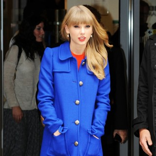 Taylor Swift in Taylor Swift Leaves BBC Radio 2