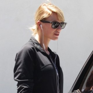 Taylor Swift Leaving The Gym