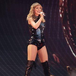 Taylor Swift Performing on Her Reputation World Tour