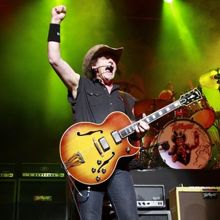 Ted Nugent in Ted Nugent Performing Live at The Indigo2