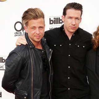 Ryan Tedder, Zach Filkins, OneRepublic in 2014 Billboard Music Awards - Red Carpet